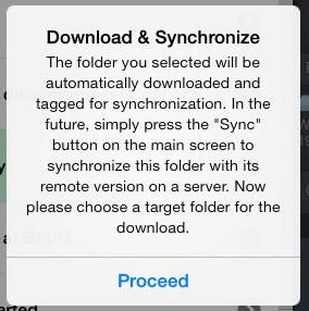 Download and Synchronize