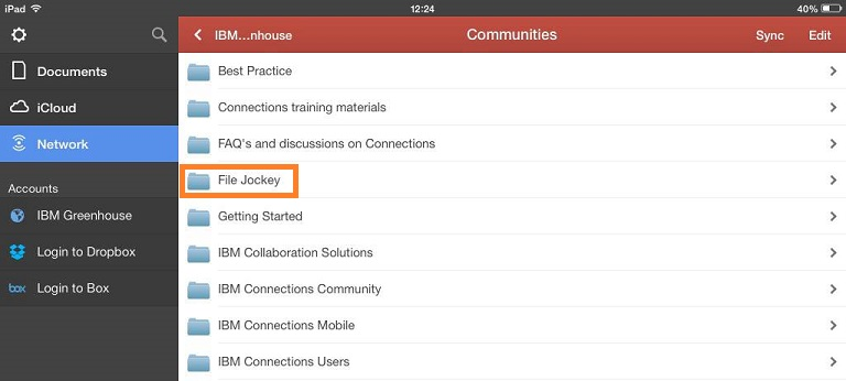 File Jockey community in IBM Greenhouse