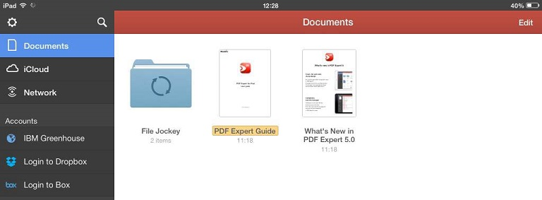 File Jockey folder is presented