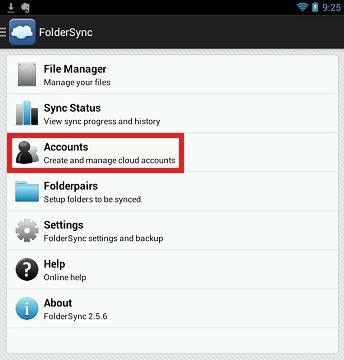 Open FolderSync