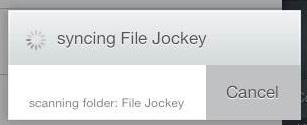 Syncing File Jockey