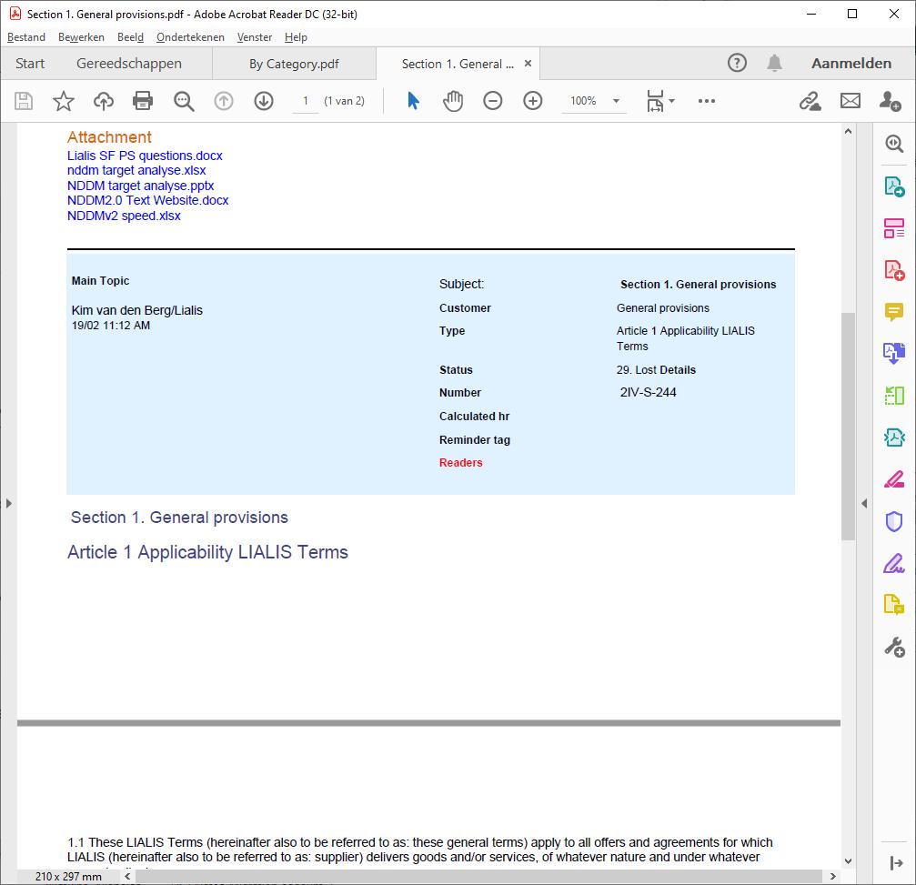lotus notes export to pdf