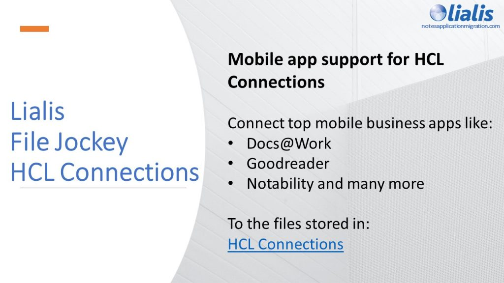 FileJockey for HCL Connections